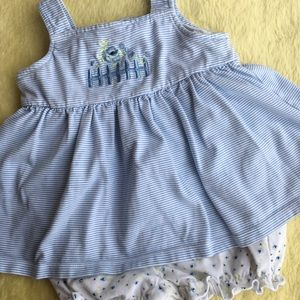 Other - Vintage dress with attached bloomers